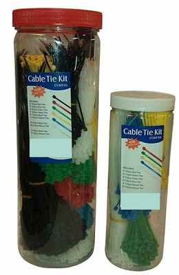 Small Cable Tie Kit (600 pcs)