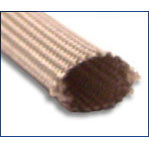 "3/4"" Heat treated fiberglass sleeving (100ft/spool)"