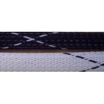 """3/4"""" FR PET Braid (Black/White)"""