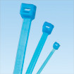 "11"" Tefzel Cable Ties - Aqua (100/pack)"