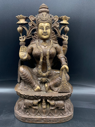 Bronze Lakshmi with Two louts