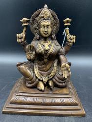 Bronze lakshmi