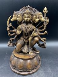 Brass Kneeling Panchamuhkti