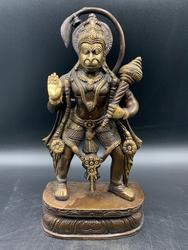 Brass Standing Hanuman