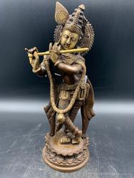 Brass Lord Krishna