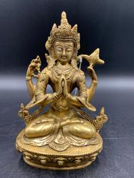 Gold Praying Tara