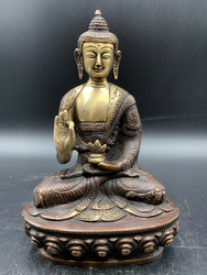 Brass Meditation Buddha Giving blessing