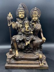 Holy Family Shiva Durga and Ganesh
