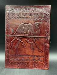 Leather Camel Notebook