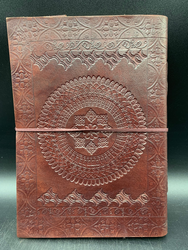 Mandala Leather Notebook