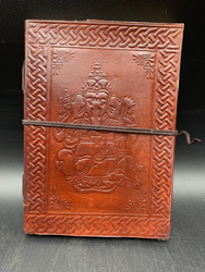 Ganesh Leather Notebook