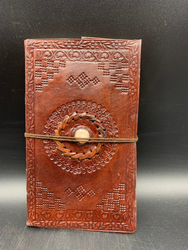 Oval tinted Stone Journal