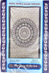 BADAL DOUBLE ROUND TAPESTRY