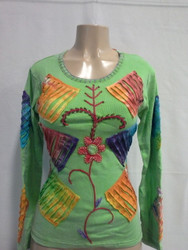 Cotton Knitted Long Sleeve