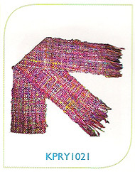 Hemp & Recycled Yarn  SCARF