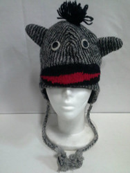 WOOLEN ANIMAL HAT 5