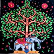 Elephant tree_ brush