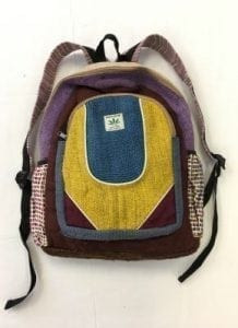 brand new style hemp back pack