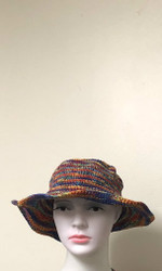 RAINBOW HEMP HAT
