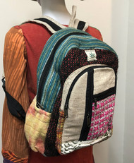 NEW STYLE HEMP BACKPACK PINK WALL