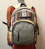 BRAND NEW HEMP BACKPACK GREY MOUNTAIN
