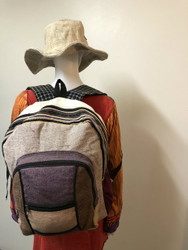 PLAIN HEMP BACKPACK