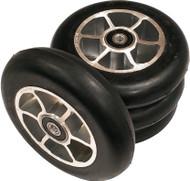 4 built 105x24 mm Roller Ski Wheels