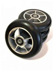 4 built 109x24 mm Roller Ski Wheels