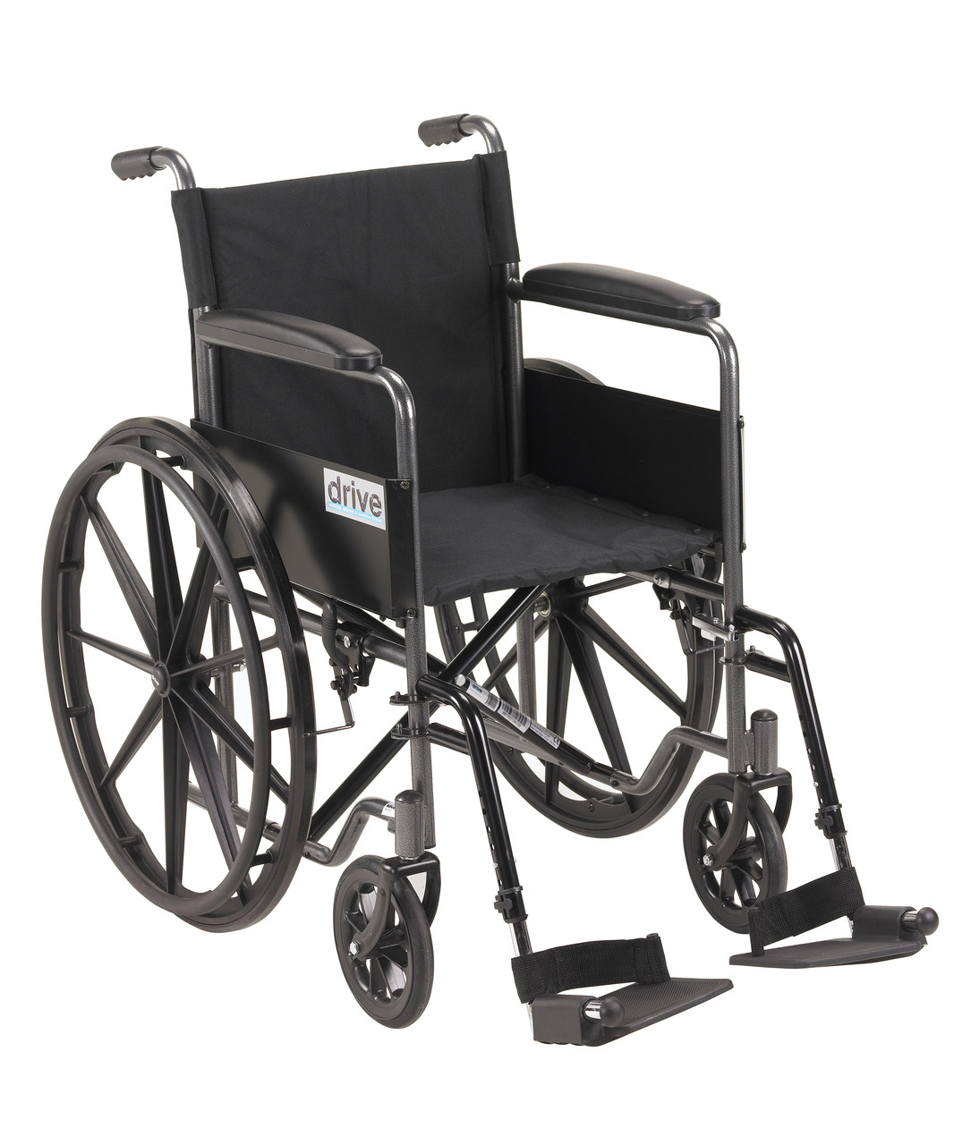Wondrous Silver Sport 1 Wheelchair With Full Arms And Swing Away Removable Footrest Bralicious Painted Fabric Chair Ideas Braliciousco