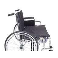 "Sentra EC Heavy Duty Extra Wide Wheelchair, Detachable Desk Arms, 30"" Seat"