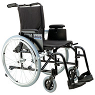 "Cougar Ultra Lightweight Rehab Wheelchair, Swing away Footrests, 18"" Seat"