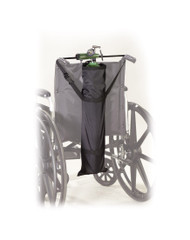 Wheelchair Carry Pouch for Oxygen Cylinders