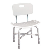 Bariatric Heavy Duty Bath Bench with Backrest