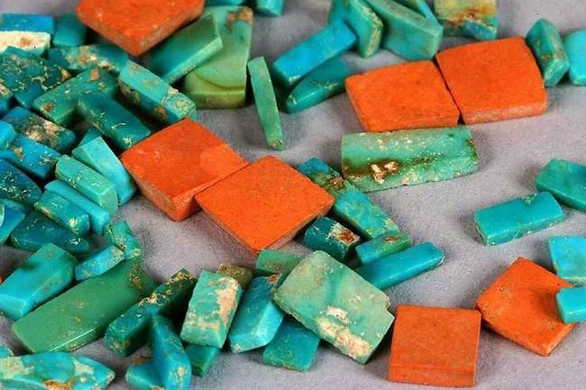 Chocoan Turquoise with Argillite