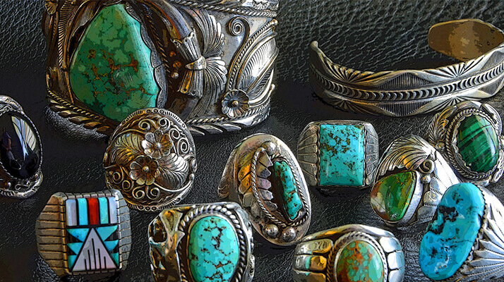 df4a8e486d6447 Types of Native American Jewelry by Tribe - Southwest Silver Gallery