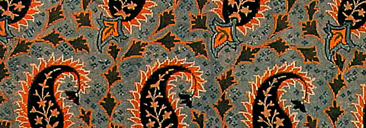 Persian Silk Brocade