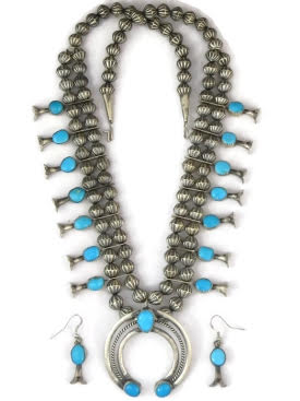 Symbolism in Turquoise Necklace