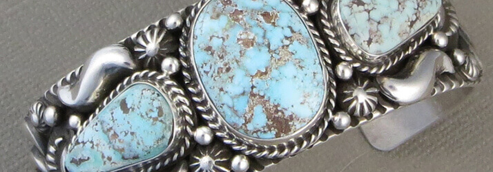 turquoise Native American bracelet