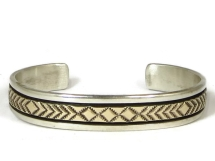 silver bangle necklace