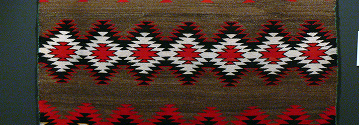 Woven Navajo Rug