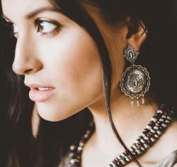 Silver Earrings - No Stones