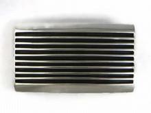Sterling Silver Channel Belt Buckle by Francis Jones, Navajo Jewelry