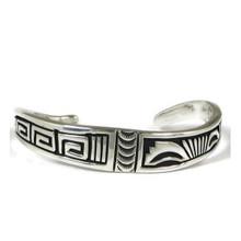 Sterling Silver Overlay Bracelet by Steven Begay