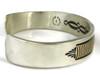 14k Gold & Sterling Silver Bracelet Large by Bruce Morgan (BR2962)