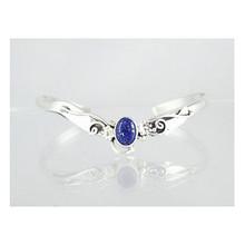 Sterling Silver Lapis Bracelet (BR3141)