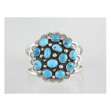 Sleeping Beauty Turquoise Cluster Bracelet - Danny Martinez