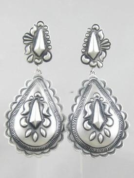 Handmade Sterling Silver Earrings - Eugene Charley (ER0868)