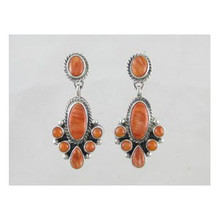 Sterling Silver Spiny Oyster Shell Dangle Earrings (ER3170)
