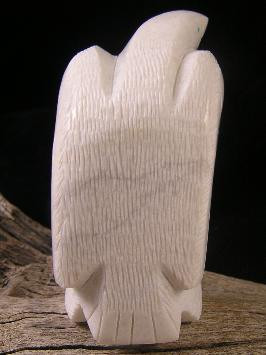 Large Eagle Fetish Carving