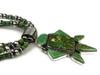 Natural Pilot Mountain Turquoise Necklace Earring Set by LaRose Gonadonegro